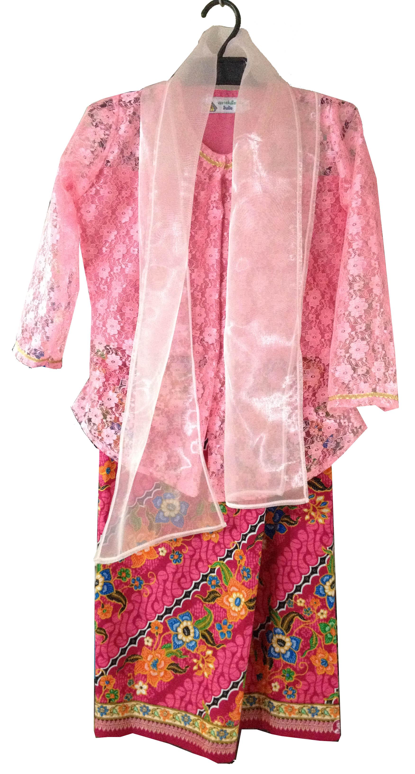 ชุด asean มาเลเซีย เด็กหญิง