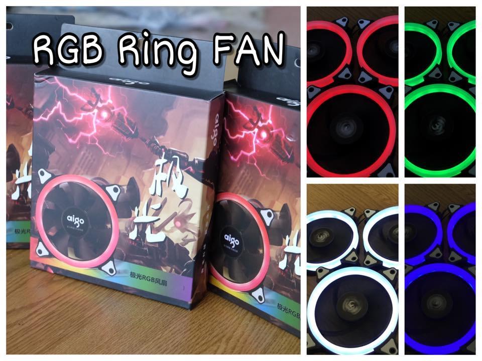 Aigo RGB Fan Ring ชุด3ตัว