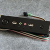 แผงปิดหน้าเคส5.25 SWpower,reset USB-Audio