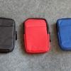 กระเป๋า EXT HDD แบบผ้าแข็ง ไม่มีสกรีน