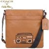 กระเป๋าผู้ชายสะพาย COACH x Keith Herring Limited Edition RADIO BROWN F11715