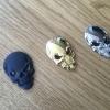 """สติ๊กเกอร์ โลหะ3D """" Skull """""""