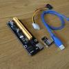 Adaptor PCI X1 to PCI X16 USB3.0 :sata to molex