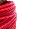 สายถัก 3 mm สีแดง