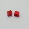 6 Pin แบบลงปริ๊น สีแดง