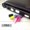 VGA จุกยางซิลิโคนป้องกันฝุ่น Notebook