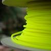สายถัก 4 mm กลม สีเหลืองUV