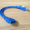 สายแปลง 20 Pin USB3.0 MALE ออกเป็น USB 3.0 MALE 2 หัว