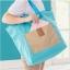 Folding Shopping Bag กระเป๋าช็อปปิ้ง/เดินทางพับเก็บได้ thumbnail 3