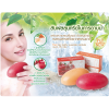 Mistine Natural Herbal Soap สบู่บำรุงผิวผสานสารสกัดธรรมชาติ สูตรทับทิบ และสูตรแครอท 70g