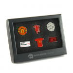 เข็มกลัดที่ระลึกแมนเชสเตอร์ ยูไนเต็ดของแท้ Manchester United 6 Piece Badge Set