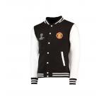 เสื้อแจ็คเก็ตแมนเชสเตอร์ ยูไนเต็ด UEFA Champions League Varsity ของแท้