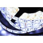 ไฟ LED แบบเส้น SMD ดวงใหญ่ 60 ดวง/เมตร ยาว 5 เมตร (สีขาว)