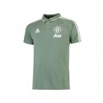 เสื้อโปโลอดิดาสแมนเชสเตอร์ ยูไนเต็ด Training Polo สีเขียวของแท้