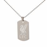 สร้อยคอที่ระลึกลิเวอร์พูลของแท้ Liverpool FC Personalised Liverbird Pendant