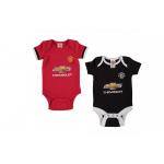 เสื้อผ้าแมนเชสเตอร์ ยูไนเต็ดของแท้ สำหรับเด็กเล็ก ชุดบอดี้สูทลายเสื้อแข่ง 2017/18