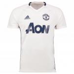 เสื้อแมนเชสเตอร์ ยูไนเต็ดของแท้ เทรนนิ่งเจอร์ซี่สีขาว