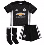 เสื้อแมนเชสเตอร์ ยูไนเต็ด 2017 2018 ทีมเยือนสำหรับเด็กพร้อมถุงเท้าของแท้