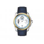 นาฬิกาข้อมือแมนเชสเตอร์ ซิติ้ รุ่นที่ระลึกแชมป์พรีเมียร์ลีก 2017-2018 สายหนังของแท้