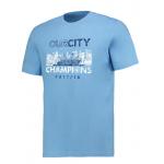 เสื้อทีเชิ้ตแมนเชสเตอร์ ซิตี้ 2018 Premier League Winners Our City ของแท้