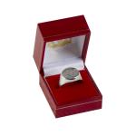 แหวนที่ระลึกลิเวอร์พูล ของแท้ 100% Liverpool FC Round Liverbird Silver Ring - Large