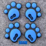 กันกระแทก สติ๊กเกอร์ รอยเท้าหมี น่ารักๆ (สีน้ำเงิน)