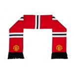 ผ้าพันคอแมนเชสเตอร์ ยูไนเต็ดของแท้ Manchester United Retro Bar Scarf Red Adult