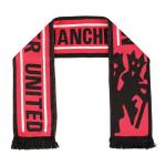 ผ้าพันคอแมนเชสเตอร์ ยูไนเต็ดอดิดาสของแท้ Manchester United Devil Scarf - Red/Black - Adult