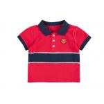 เสื้อเด็กแมนเชสเตอร์ ยูไนเต็ดขสำหรับเด็กทารก Stripe Polo ของแท้
