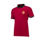 เสื้อโปโลแมนเชสเตอร์ ยูไนเต็ด Core Contrast Rib Polo Shirt ของแท้