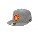 หมวกสแน๊ปแบ็คแมนเชสเตอร์ ยูไนเต็ด New Era 59FIFTY Chambray ของแท้