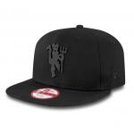 หมวกแมนเชสเตอร์ ยูไนเต็ด New Era ของแท้ Manchester United New Era Black on Black Devil 9FIFTY Snapback Cap