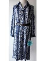 D7:Vintage dress เดรสวินเทจ ลายดอกไม้สวยมากค่ะ