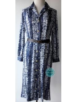 ขายแล้วค่ะ D7:Vintage dress เดรสวินเทจ ลายดอกไม้สวยมากค่ะ❤