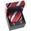 ชุดเนคไทคัฟฟลิ่งแมนเชสเตอร์ ยูไนเต็ด ผ้าไหมของแท้ Manchester United Crest Tie Silk Cufflink Set thumbnail 1