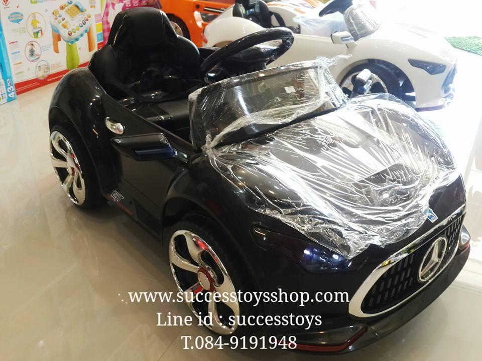 รถแบตเตอรี่เด็กนั่งไฟฟ้า รุ่น กก3153 ยี่ห้อรถเบนช์เป่าฟองบั๊บเบิ้ลได้ 2m