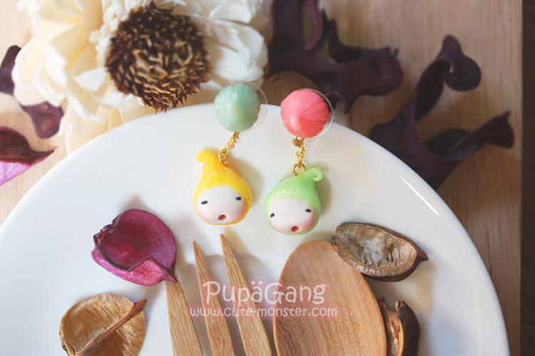 Pupa gang Thai dessert : Ar-Lua candy (ขนมอาลัว)