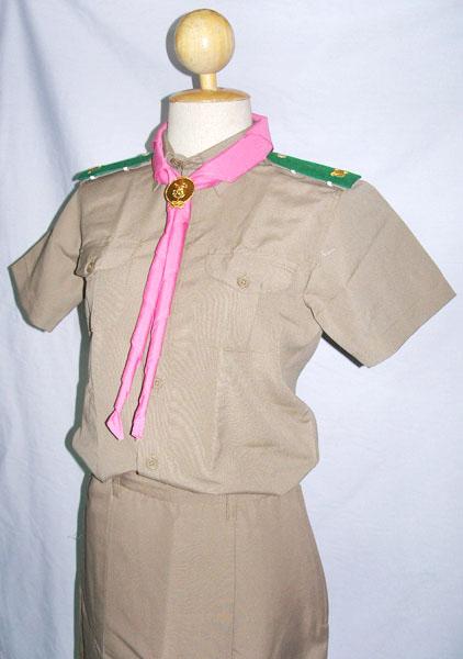 ชุดลูกเสือหญิง (ราคาตาม size)