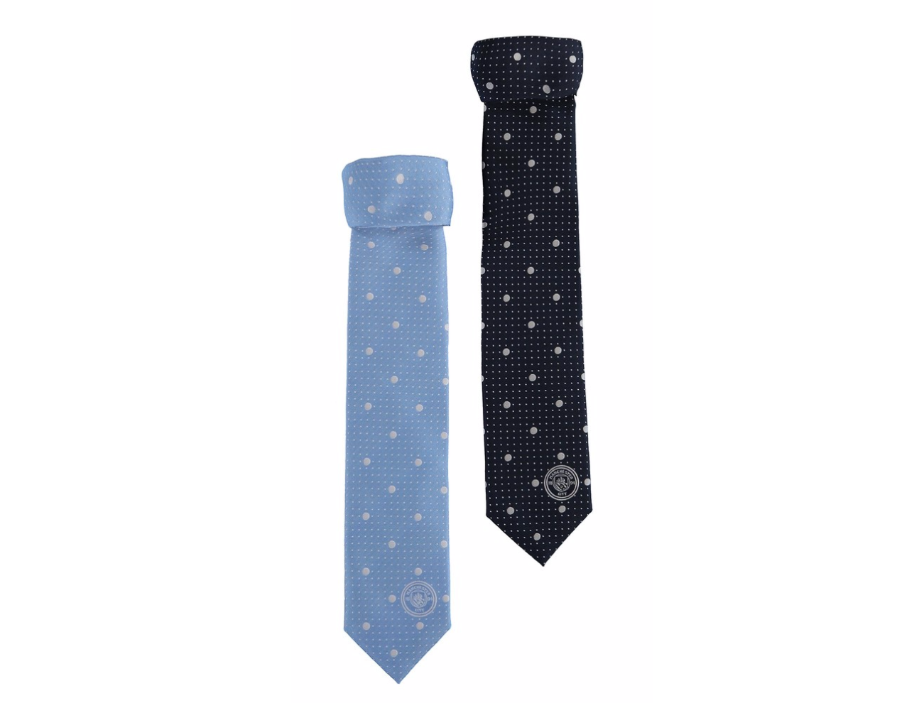 เนคไทแมนเชสเตอร์ ซิตี้ Manchester City 2 Pack Polyester Ties ของแท้