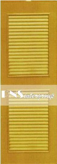 ประตู PVC UV รุ่น P4 ขนาด 60x180