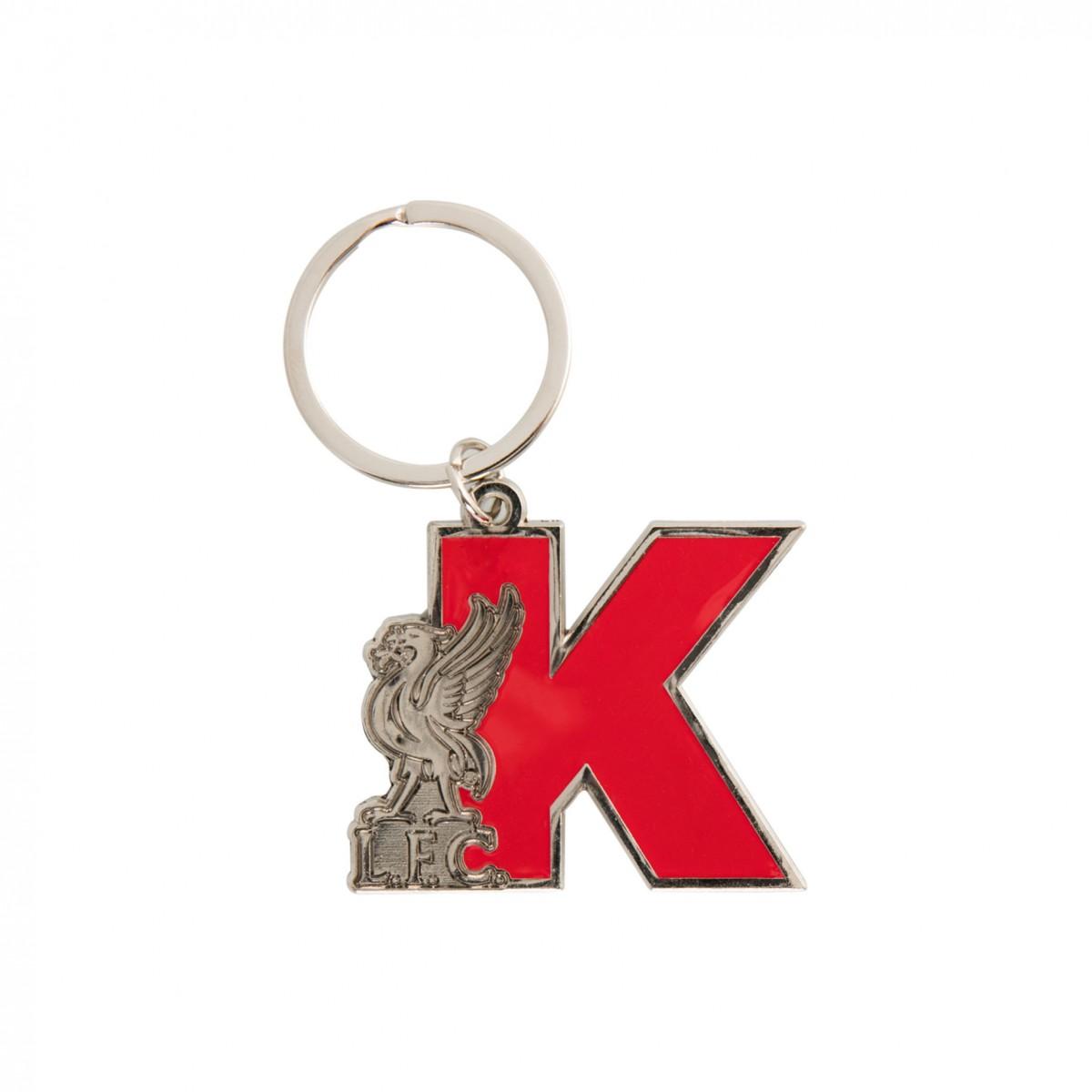 พวงกุญแจลิเวอร์พูลอักษรย่อ K ของแท้