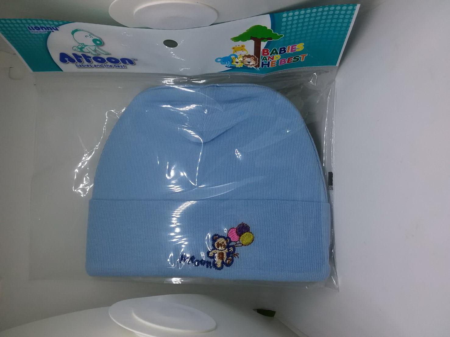 หมวกเด็กอ่อนผ้า Cotton (Attoon)