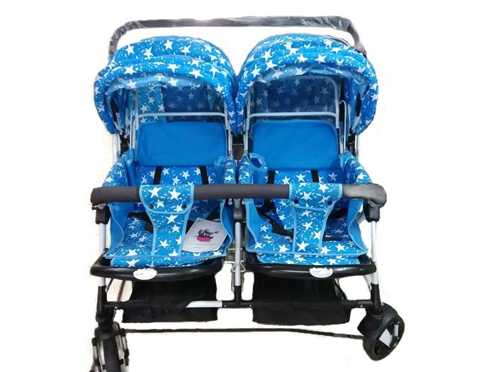 [โปรโมชั่นวันแม่] รถเข็นเด็กฝาแฝด 2 ที่นั่ง ปรับระดับได้
