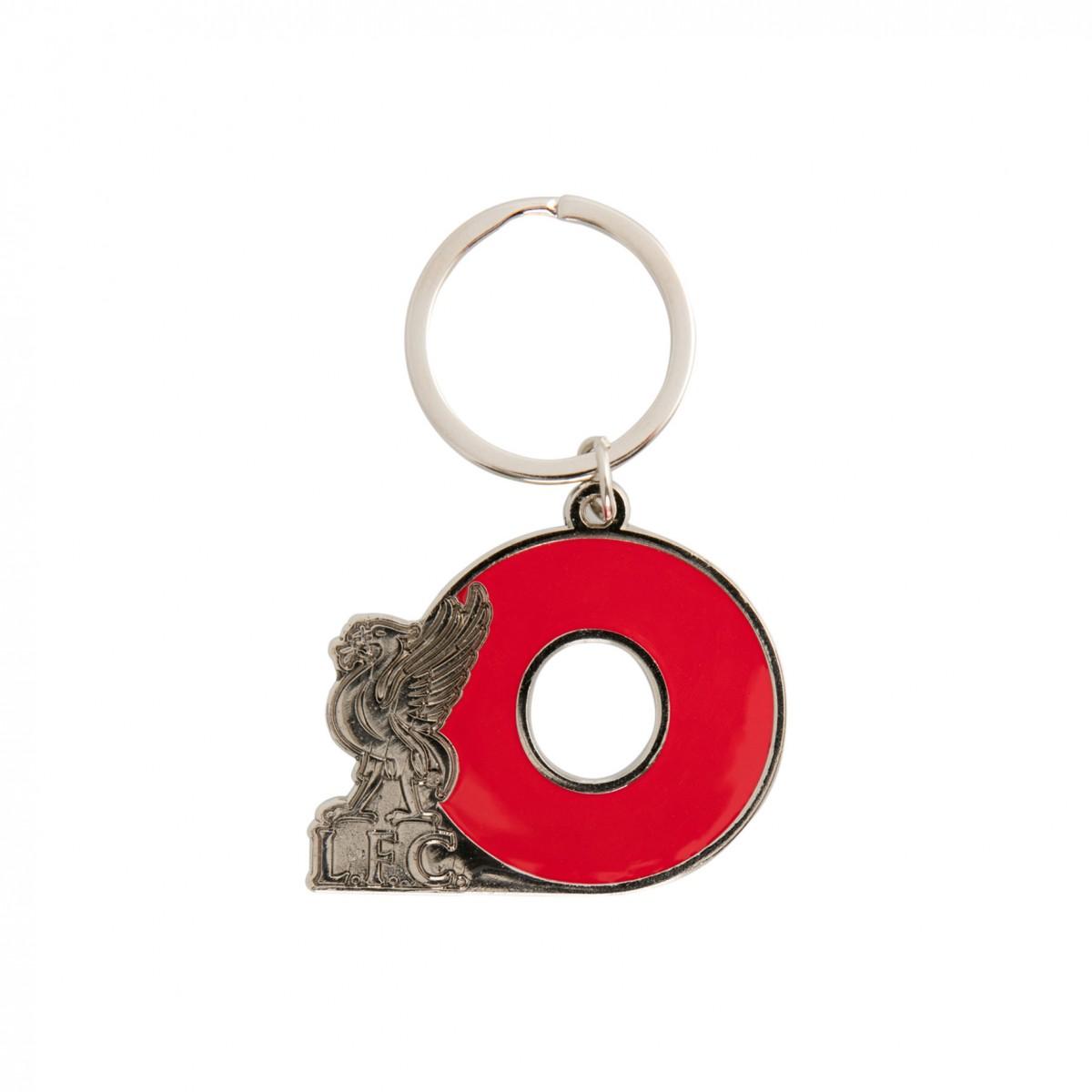 พวงกุญแจลิเวอร์พูลอักษรย่อ O ของแท้