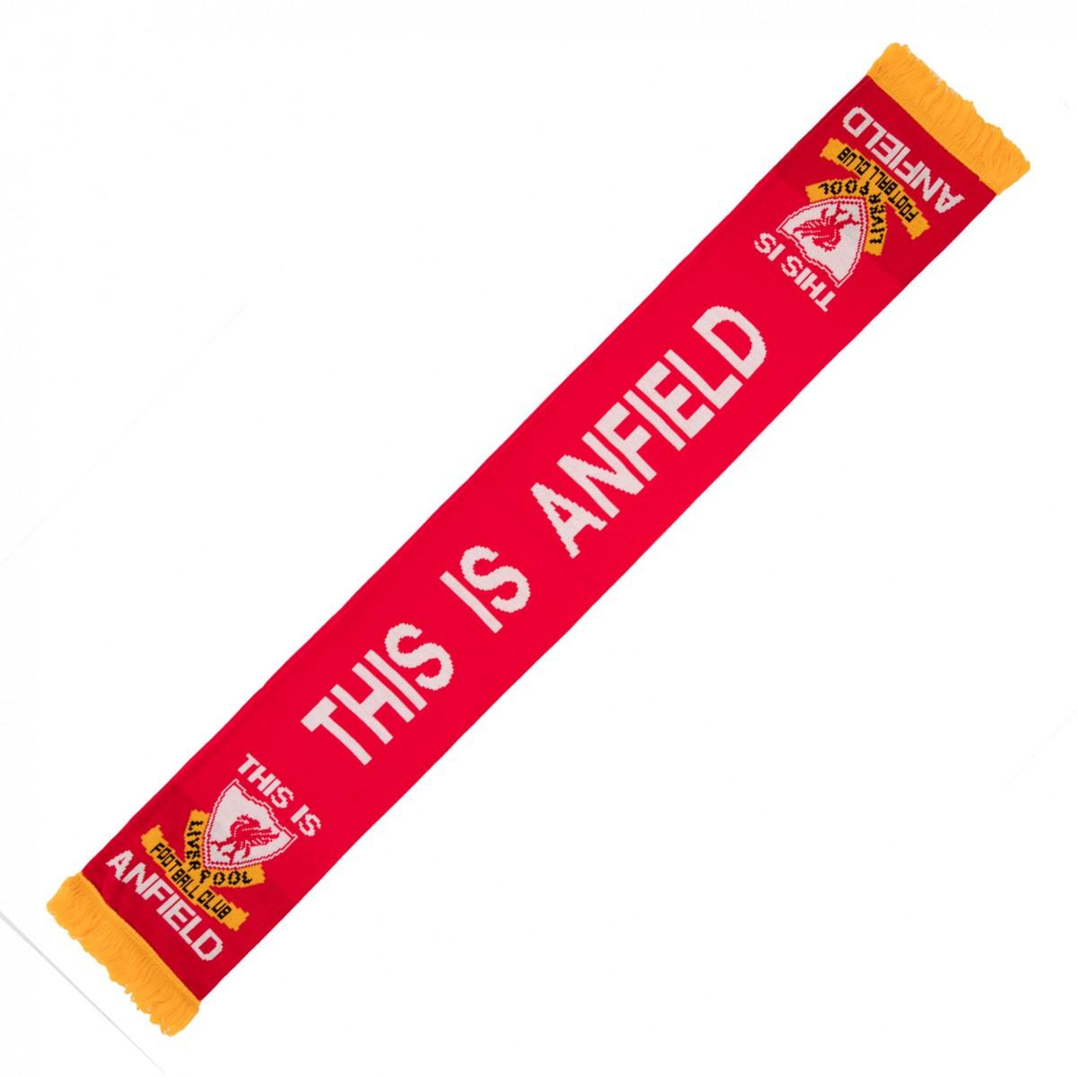 ผ้าพันคอลิเวอร์พูล This Is Anfield Scarf ของแท้