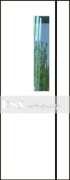 ประตู m-series รุ่น PM4 ขนาด 70x200