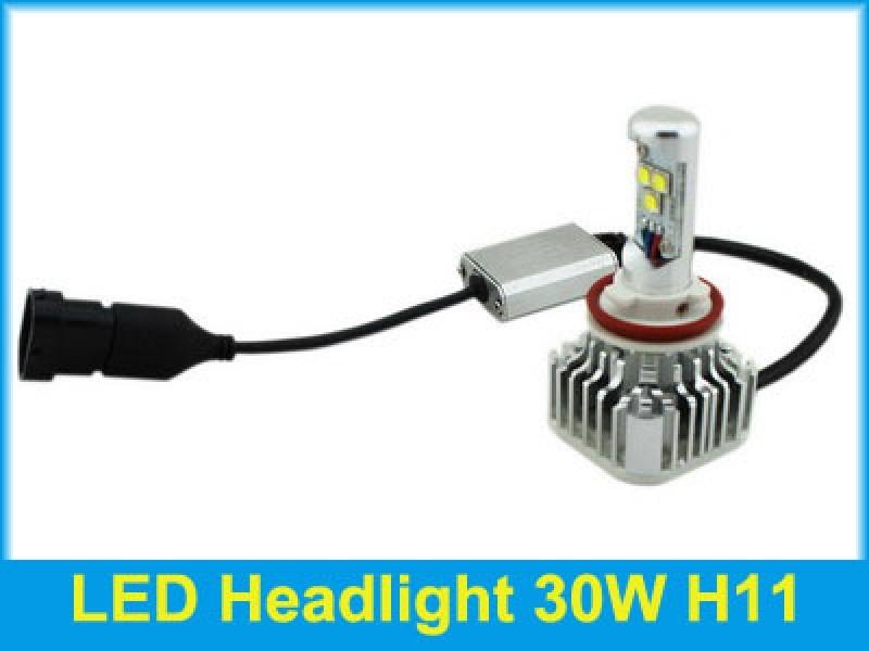 ไฟหน้า LED ขั้ว H11 Cree 3 ดวง 30W 3000lm ตัวใหม่ 2014