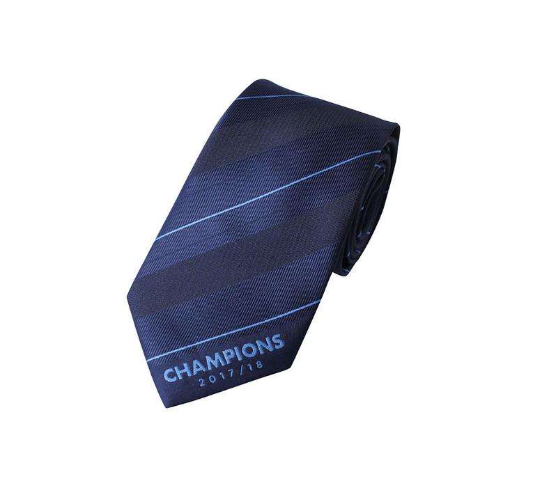 เนคไทแมนเชสเตอร์ ซิตี้ 2017-18 Champions Tie ของแท้