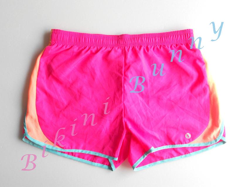 sh488 (Size สะโพก 29 - 31 นิ้ว) กางเกงเซิร์ฟเด็กโต สีชมพู-ส้ม พร้อมส่ง