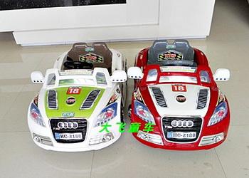 รถแบตเตอรี่เด็กนั่ง รุ่น LN2188 2 ที่นั่ง มี 2 สี เขียว แดง
